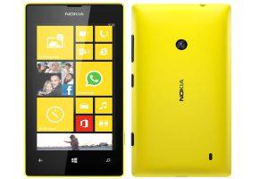 Thiết kế của Nokia Lumia 520