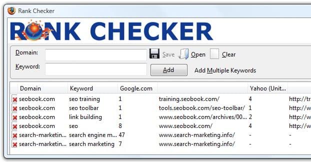 Công cụ Rank Checker